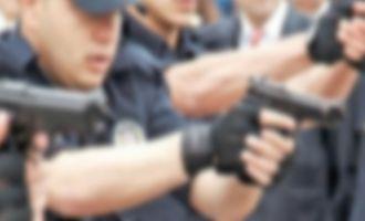 Polisten kaçmaya çalışan zanlı vuruldu