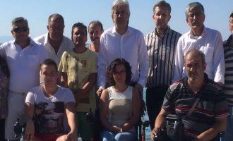 Salih Hızlı'dan Engelliler Kampına Ziyaret
