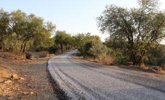 Seğirdim'e 13 kilometrelik asfalt