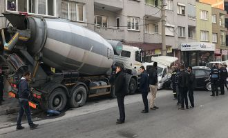 Şehir merkezinde feci kaza ucuz atlatıldı