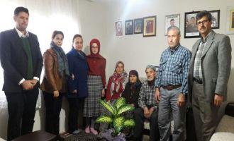 Şehit Serdar Denizer Ortaokulundan anlamlı ziyaret