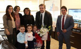 Şehit Yzb. Necdi Şentürk Anaokulundan, Akhisar Belediyesine teşekkür