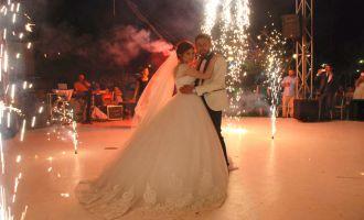 Selçuk ve Elif Esra rüya gibi bir düğün ile dünya evine girdiler