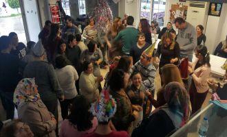 Sevgi Çocukları öğrencileri yeni yılı erken kutladılar