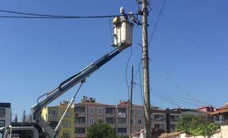 Seyit Ahmet Mahallesinde elektrik kesintisi
