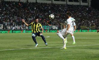Teleset Mobilya Akhisarspor; 1 - Fenerbahçe; 0