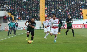 T.M. Akhisarspor; 1 - Antalyaspor; 1