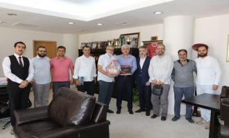 TÜMSİAD Manisa Şubesinden Belediye Başkanı Salih Hızlı'ya ziyaret