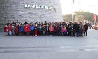 Tütenli ve Süleymanlı İlkokulu öğrenciler şehrini keşfederek fahri rehber oldu