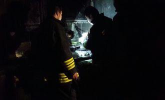 Ulucami Mahallesinde Korkutan Yangın