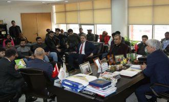 Yabancı öğrenciler Akhisar'da incelemelerde bulundu