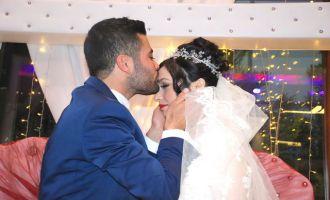 Yasin ve Kader'in görkemli düğünü