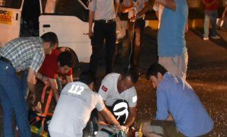 Yeni Garaj önünde feci trafik kazası; 3 yaralı