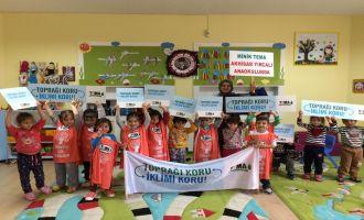 Yırcalı Anaokulu Toprağı Koru İklimi Koru Etkinliklerini Sürdürüyor