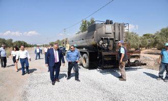 Yol Yapım ve Onarım Daire Başkanı Fevzi Demir Çalışmaları Yerinde İnceledi