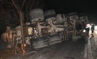 Zeytinliova Yolunda Trafik Kazası