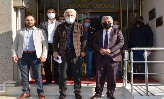 Ziraat Odası Başkanı Akbuğa Çiftçilerin Sorunlarına Çözüm Arıyor