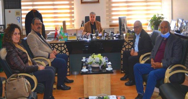 Tariş Zeytin ve Zeytinyağı Birliğinden Akhisar Ziraat Odasına Ziyaret