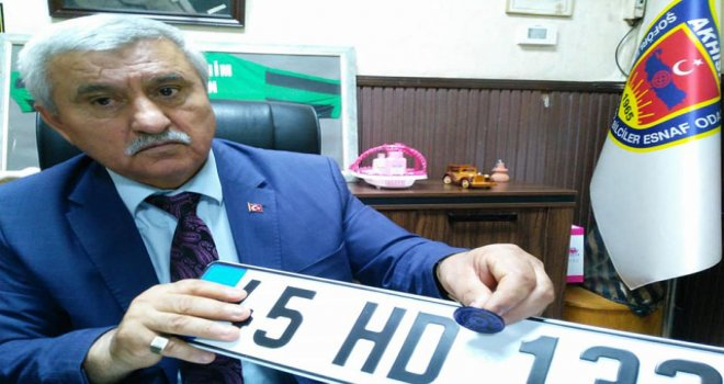 Tek yetkili Şoförler Odası! Akhisar'ın plaka mühür kodu 45-02