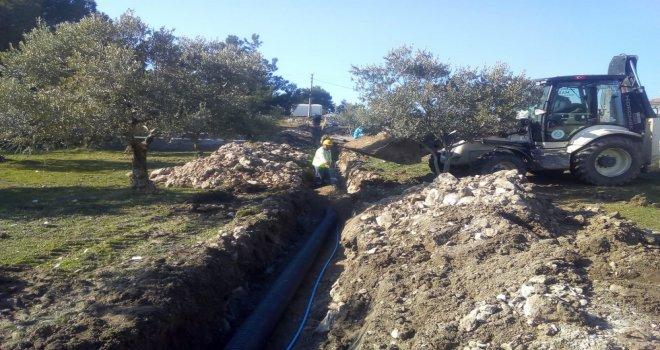 Tütenli'de Deprem Çadırlarının Altyapı İhtiyacı Karşılandı