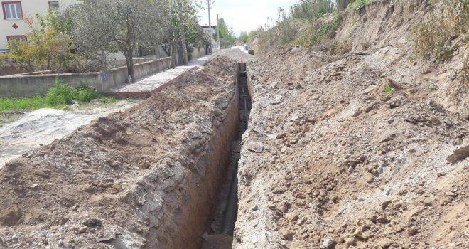 Ulucami'ye Yeni Kanalizasyon Hattı