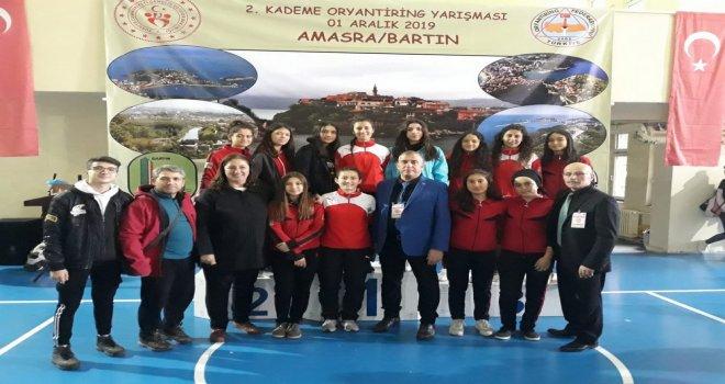Zeynep Gülin G.S.K  Oryantiring Şampiyonasından 2.lik Aldı